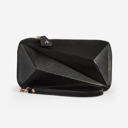 arutti london tower purse black gold